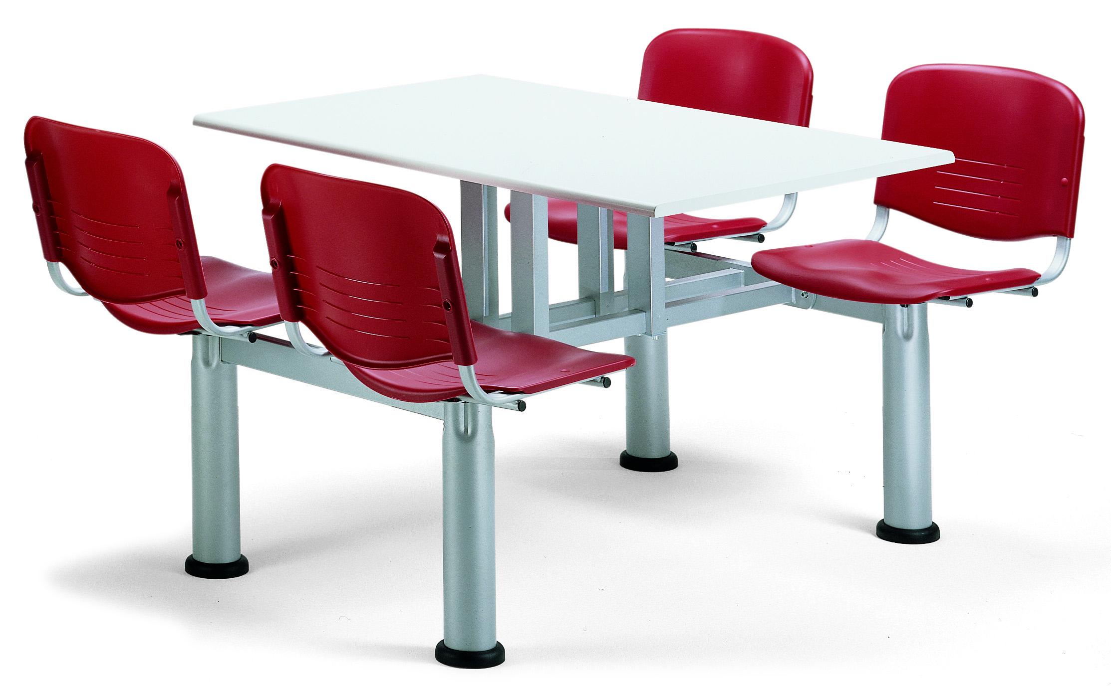 Mesas para comedores de empresas, escuelas, cafeterias.