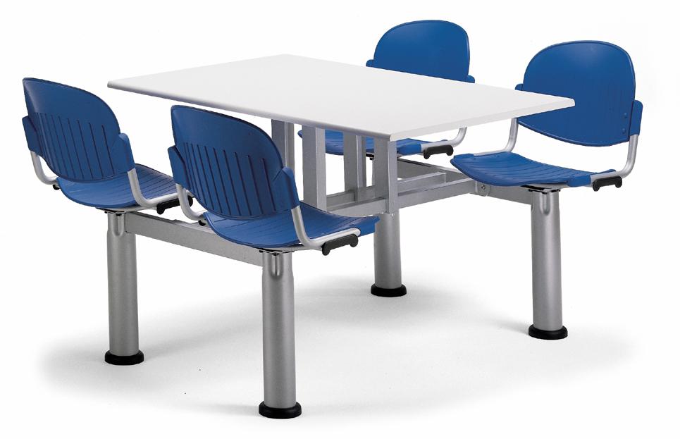 Mesas para comedores de empresas escuelas cafeterias for Comedor de escuela